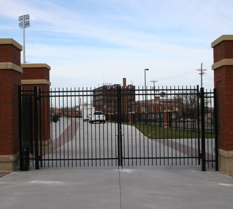 The American Fence Company - Custom Gates, 1303 Creighton Soccer Gates
