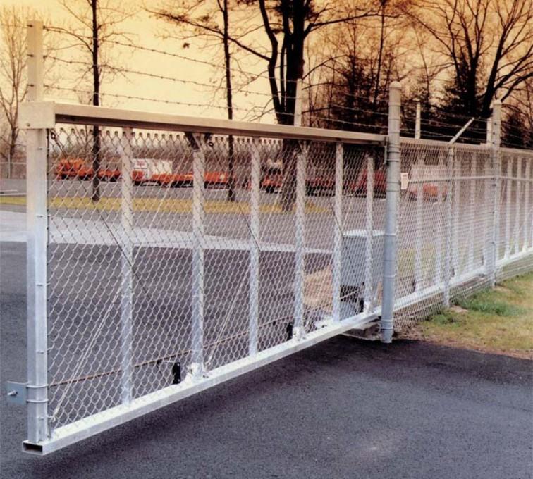 The American Fence Company - Custom Gates, 2107 TyMetal Heavy Duty Aluminum Slide Gate