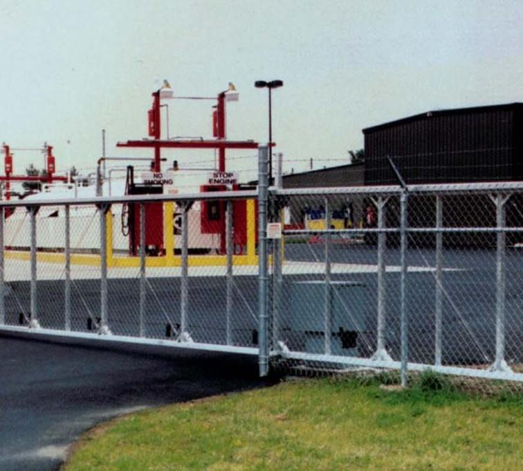The American Fence Company - Custom Gates, 2108TyMetal Aluminum Structural Slide Gate