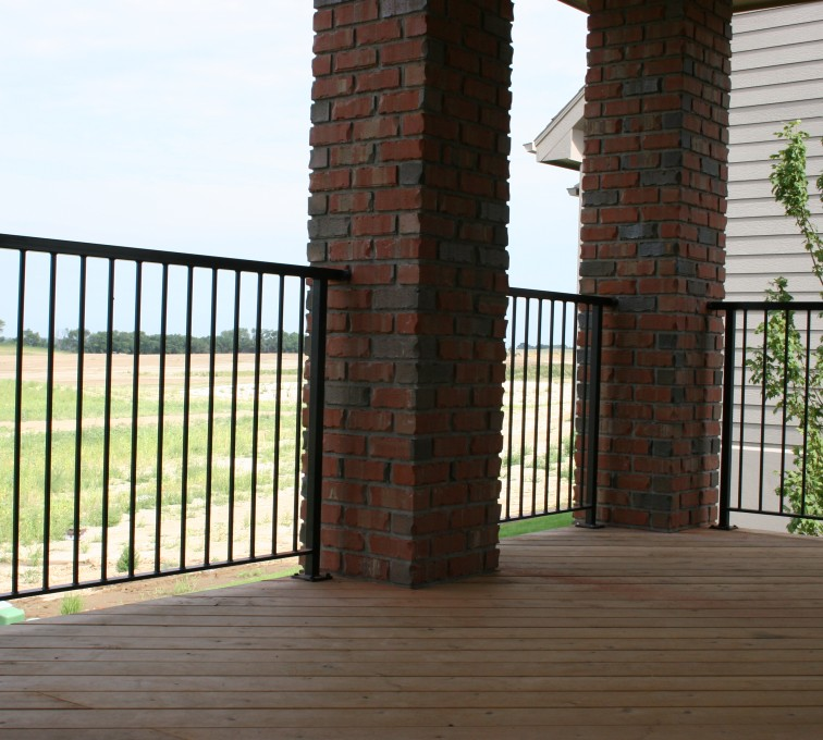 The American Fence Company - Custom Railing, 2210 Deck railing