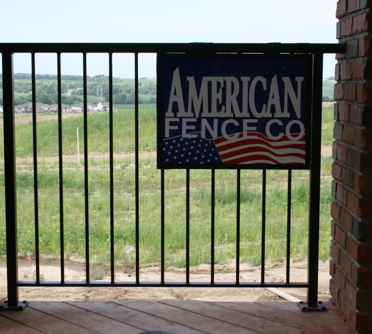The American Fence Company - Custom Railing, 2212 Deck Railing