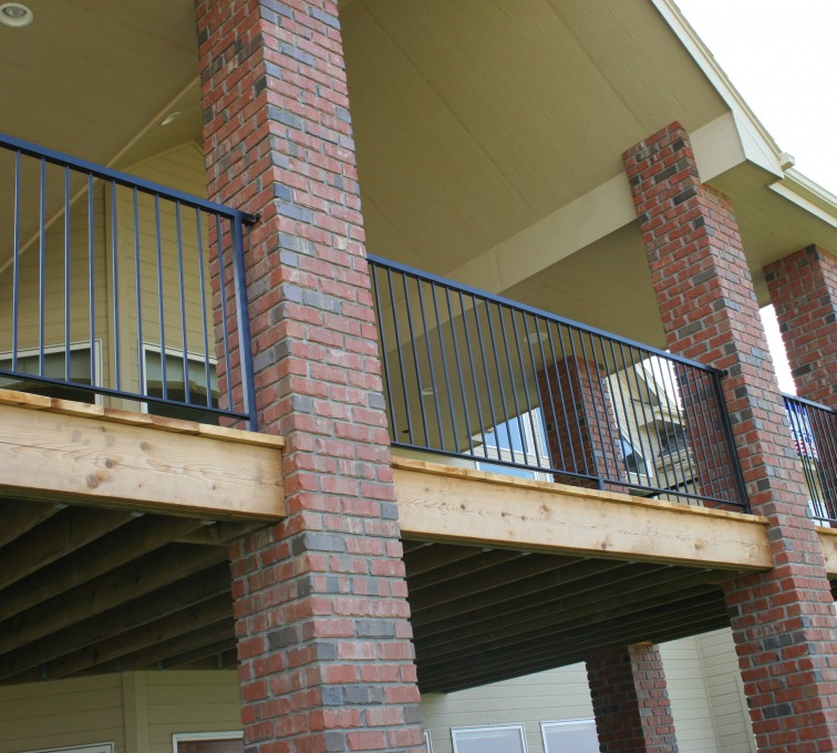 The American Fence Company - Custom Railing, 2213 Deck Railing