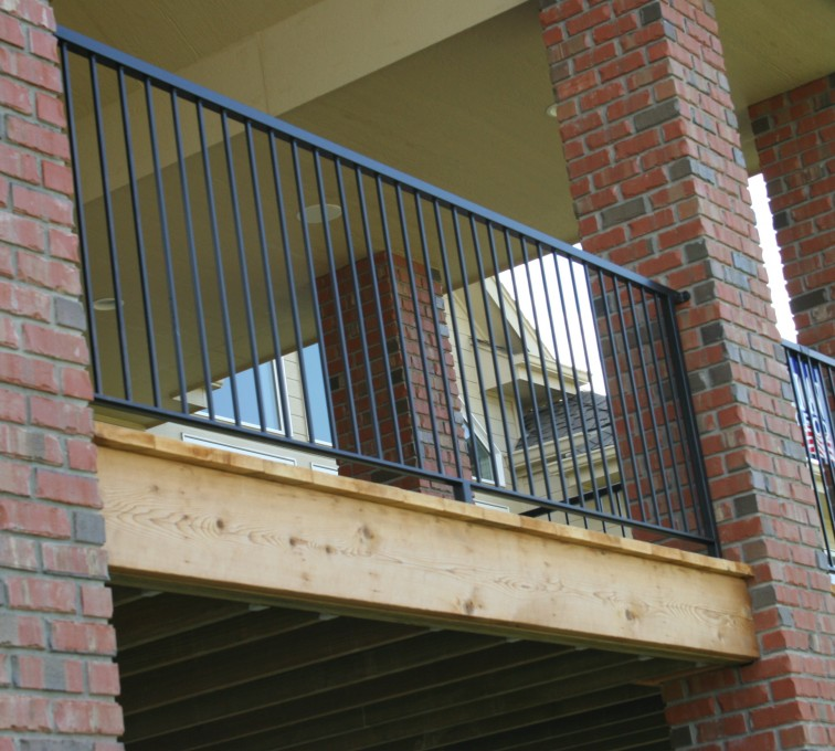 The American Fence Company - Custom Railing, 2214 Deck Railing