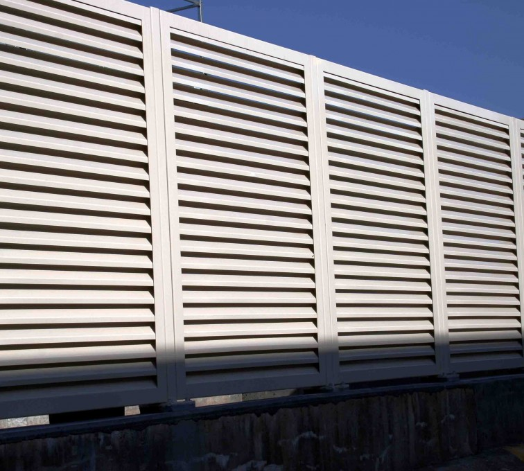 Louvered Fence Systems Fencing