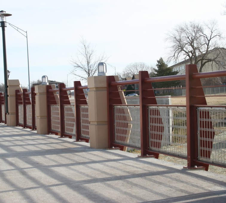 The American Fence Company - Custom Railing, 2227 Stainless Steel In-fill Railing