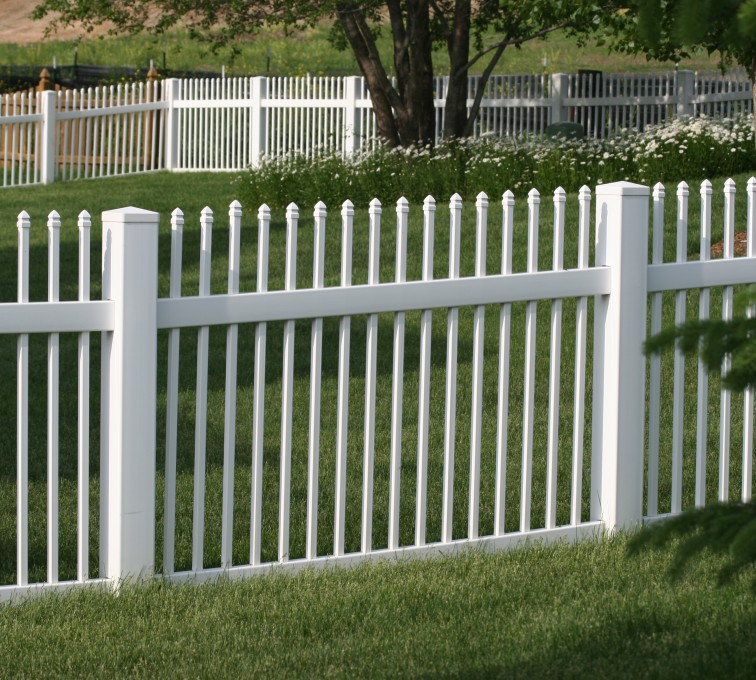 The American Fence Company - Vinyl Fencing, 4' Ornamental Picket 855