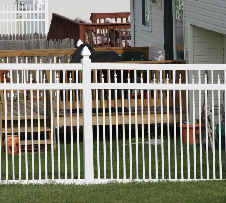The American Fence Company - Vinyl Fencing, 4' Ornamental Picket Conquer 854