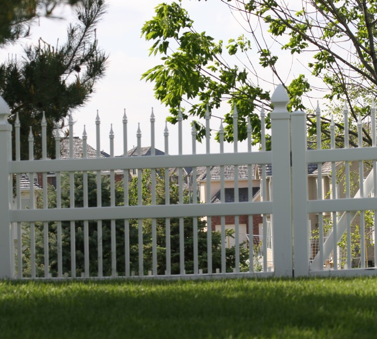 The American Fence Company - Vinyl Fencing, 4' Ornamental warrior 852
