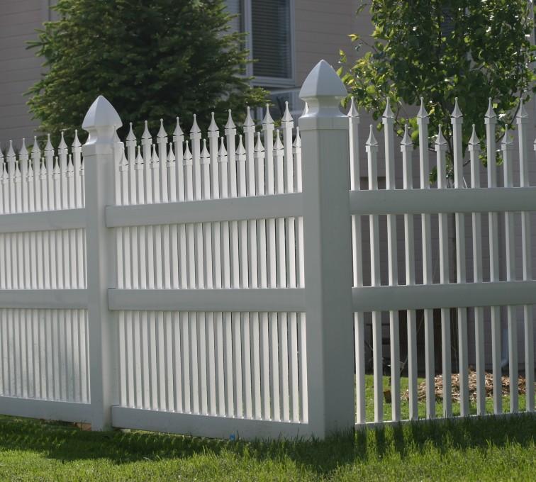 The American Fence Company - Vinyl Fencing, 4' Ornamental Warrior 853