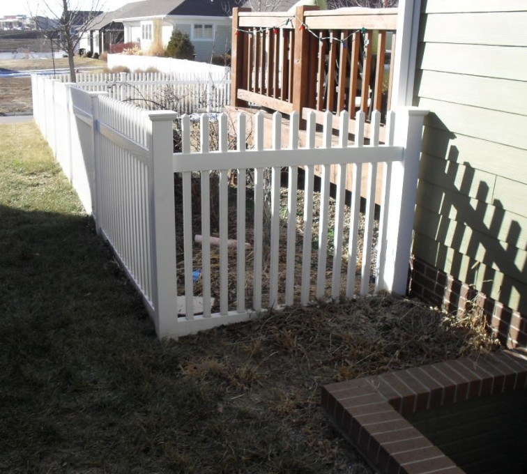 The American Fence Company - Vinyl Fencing, 4' Picket PVC