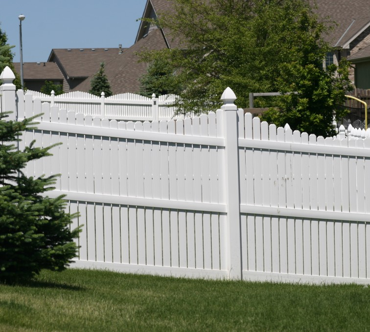 The American Fence Company - Vinyl Fencing, 563 6' Arch Under