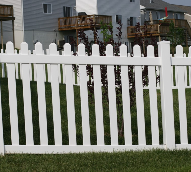 The American Fence Company - Vinyl Fencing, 4' Picket 564