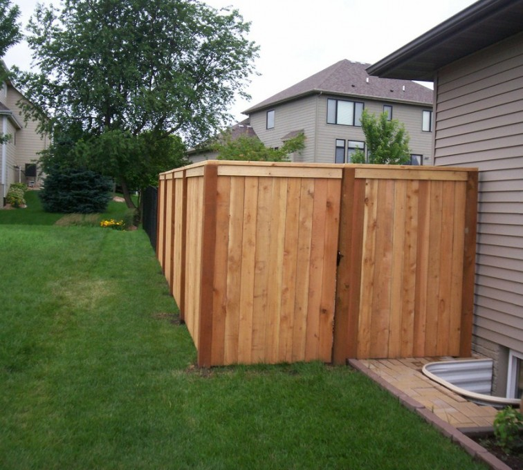 The American Fence Company - Wood Fencing, 6' Capboard - AFC - IA