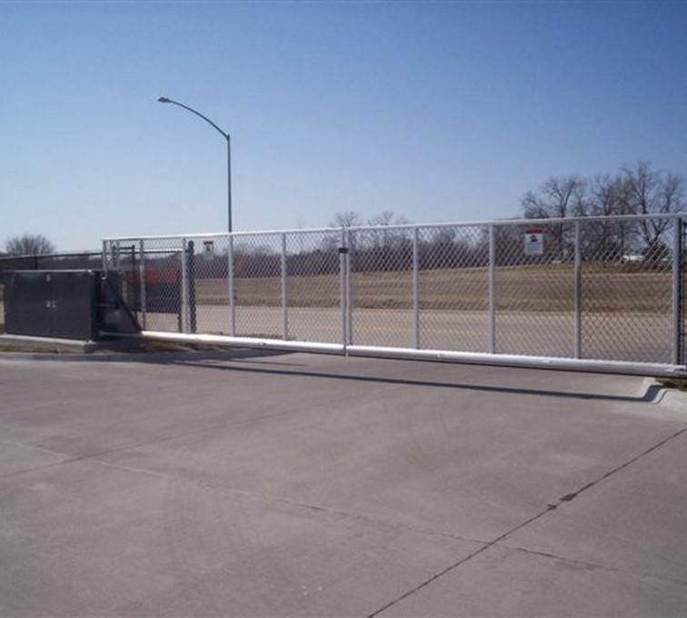 The American Fence Company - Custom Gates, 6' Double Tilt Away Gate - AFC - IA
