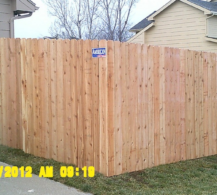 The American Fence Company - Wood Fencing, 6' Wood Privacy - AFC - IA