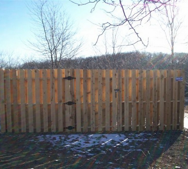 The American Fence Company - Wood Fencing, 6' Board on Board - AFC - IA