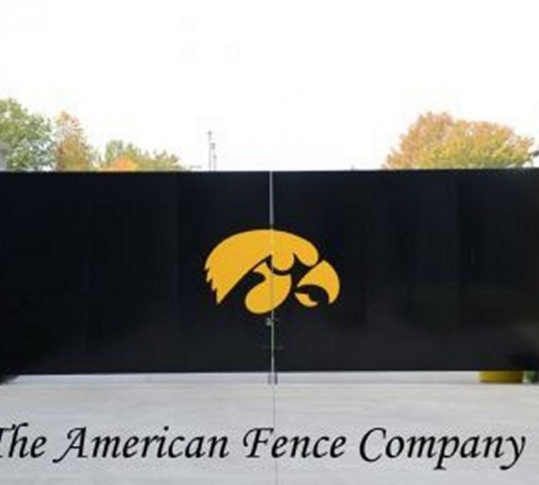The American Fence Company - Custom Gates, 8' Custom Aluminum Gate - AFC - IA