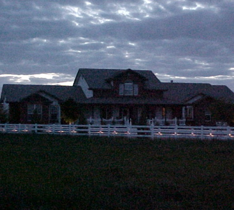 The American Fence Company - Vinyl Fencing, AZ Mortenson Lighted front