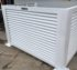 Air conditioner louvered equipment screening