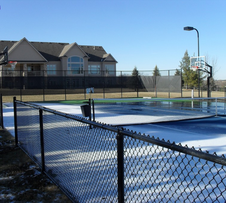 The American Fence Company - Sports Fencing, BVCL Tennis Court