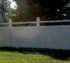 The American Fence Company - Vinyl Fencing, Black N' Tan