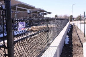 Des Moines Fence Company - Chain Link Fencing, Black Vinyl Chain Link Track Fence