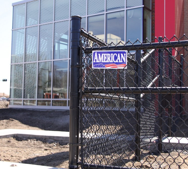 The American Fence Company - Chain Link Fencing, Black vinyl chain link