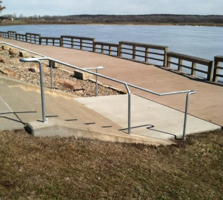 The American Fence Company - Custom Railing, Custom Galvanized Handrail - AFC - IA