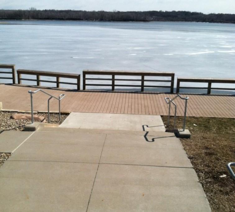 The American Fence Company - Custom Railing,Custom Galvanized Handrail 2 - AFC - IA