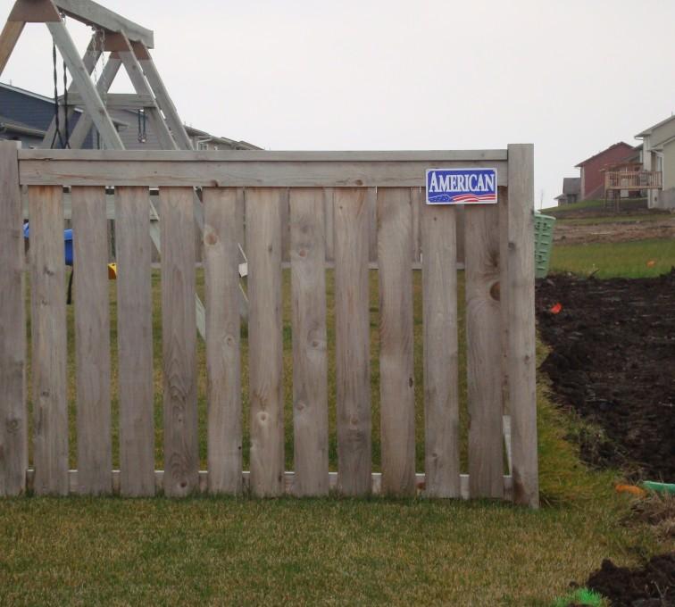 The American Fence Company - Wood Fencing, Cedar Picket Capboard AFC, SD