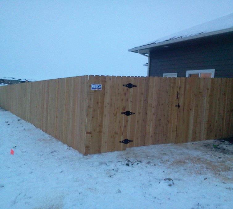 The American Fence Company - Wood Fencing, Cedar Privacy AFC, SD