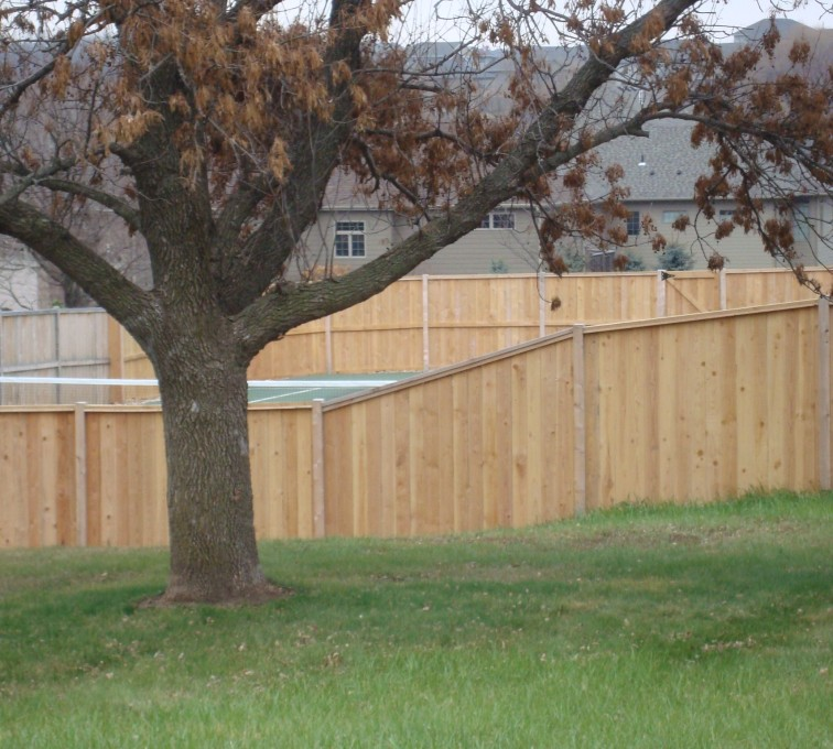 The American Fence Company - Wood Fencing, Cedar Privacy Capboard AFC, SD