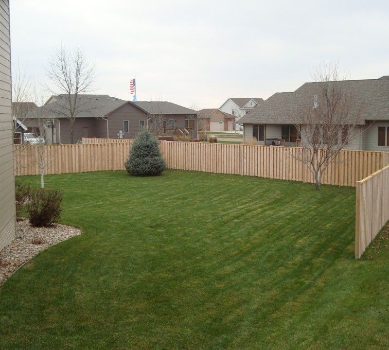 The American Fence Company - Wood Fencing, Cedar Shadow Box AFC, SD