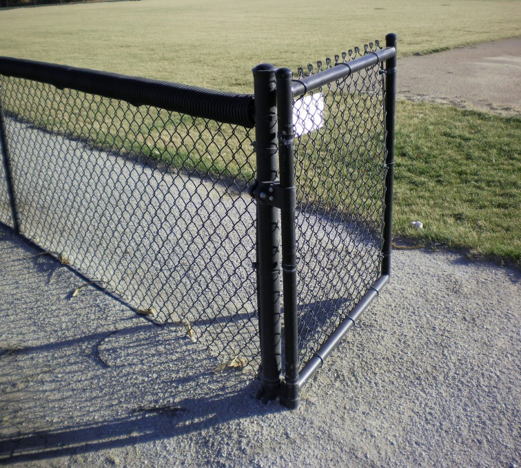 The American Fence Company - Chain Link Fencing, Black Vinyl-AFC-Grand Island
