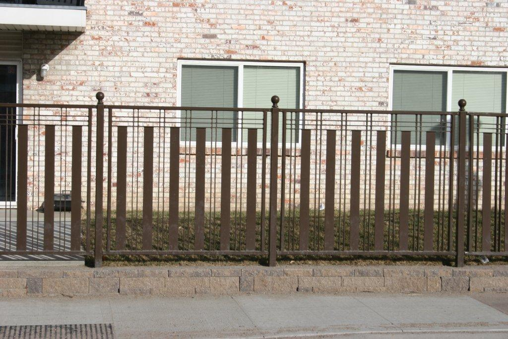 Checkerboardfence Theamericanfencecompany The American