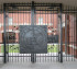 The American Fence Company - Custom Gates, Creighton Arched Gate Photos