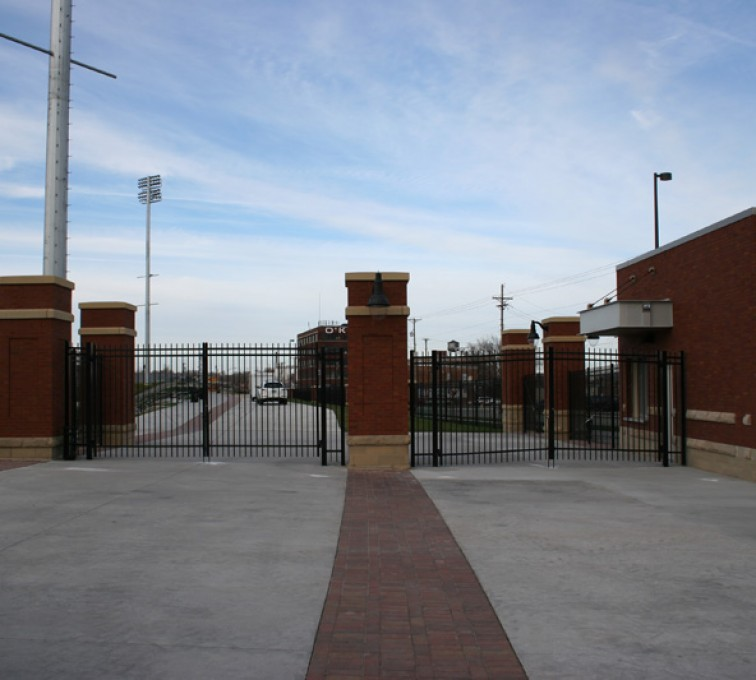 The American Fence Company - Custom Gates, Creighton Soccer Gates
