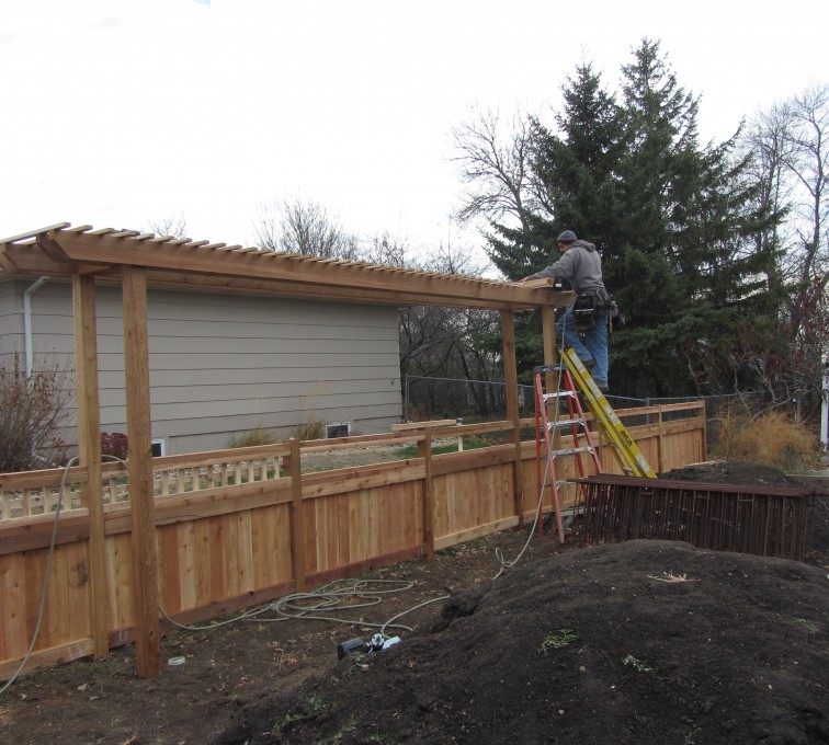 The American Fence Company - Wood Fencing, Custom Arbor AFC, SD