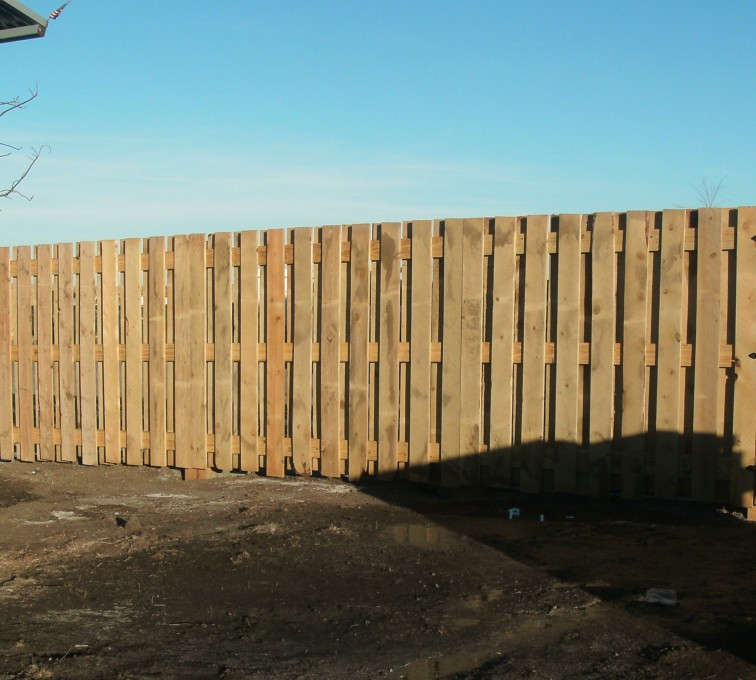The American Fence Company - Wood Fencing, Custom Board on Board - AFC - SD