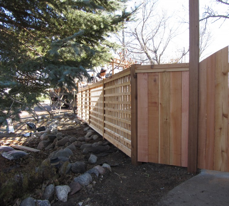 The American Fence Company - Wood Fencing, Custom Cedar 10