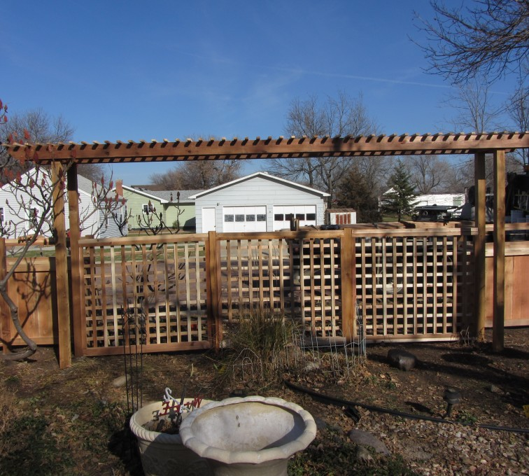 The American Fence Company - Wood Fencing, Custom Cedar 11