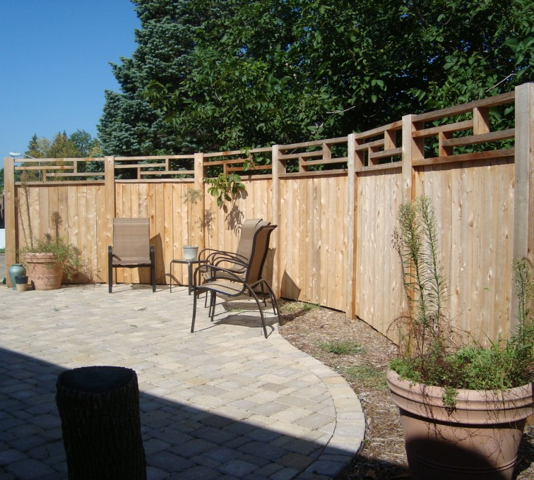 The American Fence Company - Wood Fencing, Custom Frank Lloyd Wright AFC, SD