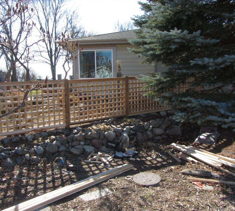The American Fence Company - Wood Fencing, Decorative Cedar Lattice AFC, SD