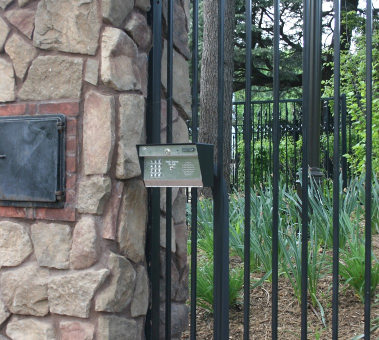 The American Fence Company - Custom Gates, Estate Telephone Entry, Column and Postal Box