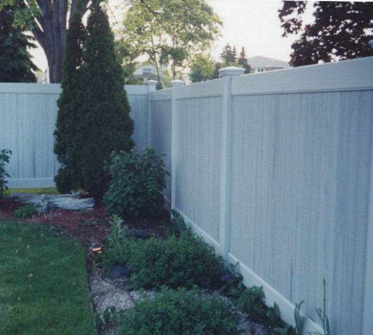 The American Fence Company - Vinyl Fencing, Greystone Privacy (615)