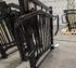 Custom Metal Railing Black Coated