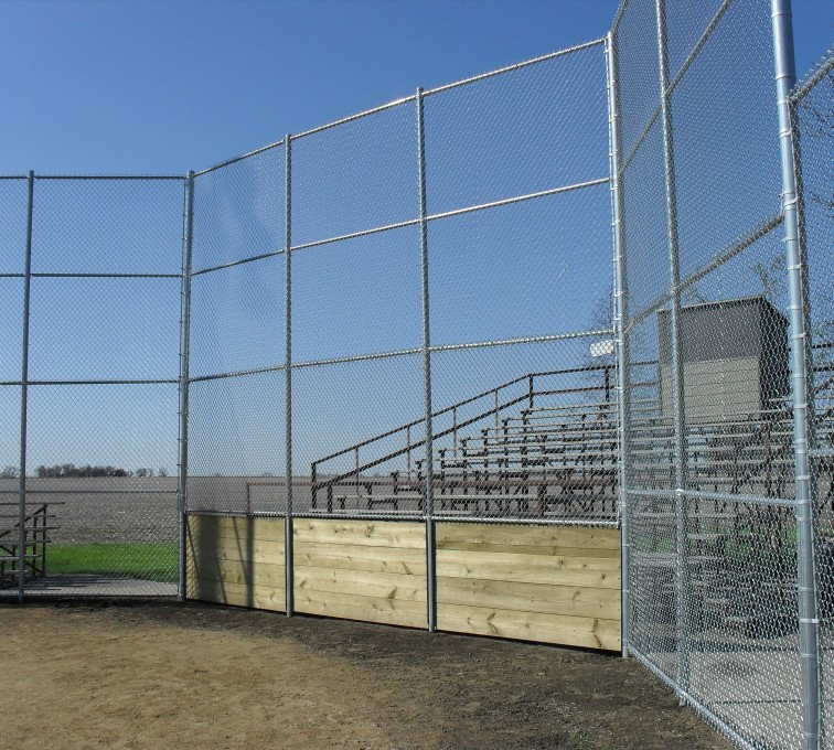 The American Fence Company - Sports Fencing, Johnson Brock Ballfield