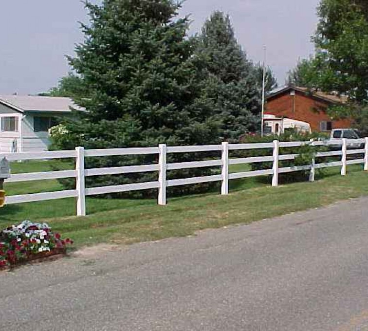 The American Fence Company - Vinyl Fencing, MVC-002S1