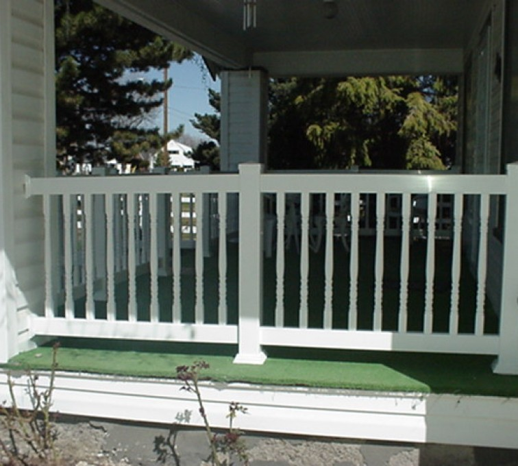 The American Fence Company - Custom Railing, MVC-003F