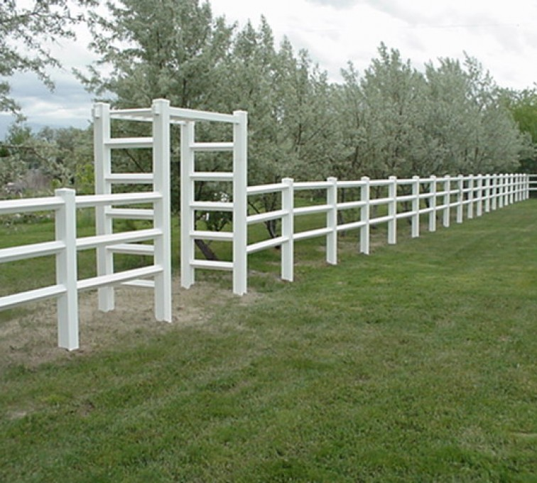 The American Fence Company - Vinyl Fencing, MVC-005F
